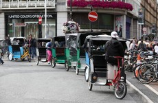 Dublin City Council hopes to have rickshaws banned this year
