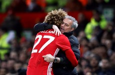 Man United extend Marouane Fellaini's contract