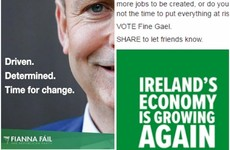 Fine Gael and Fianna Fáil spent thousands of euro targeting voters with Facebook ads