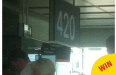 The best thing about Dublin Airport is the flights to Amsterdam going from Gate 420