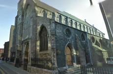 Fire at historic church in Dublin city centre