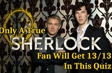 Only A True Sherlock Fan Will Get 13/13 In This Quiz