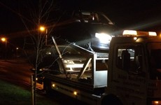 Uninsured driver, five times over limit, arrested after driving on wrong side of road towards checkpoint