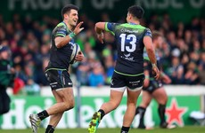 As it happened: Connacht v Zebre, Champions Cup