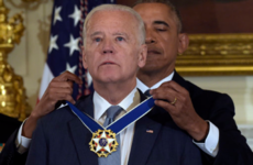 Obama presenting Joe Biden with his medal has become the loveliest meme
