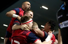 Saili's late try sends Munster back into the Champions Cup quarter-finals