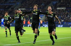 Alonso scores twice as Costa-less Blues dismiss title holders to go seven clear