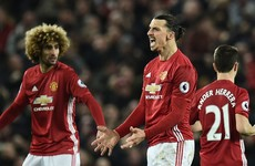 Zlatan Ibrahimovic strikes late to save a point for Man Utd