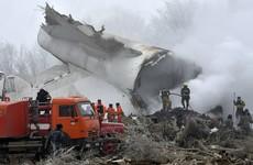 37 dead after Turkish cargo plane hits village in Kyrgyzstan