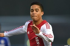 Like father, like son! Justin Kluivert followed in his dad's footsteps at the weekend