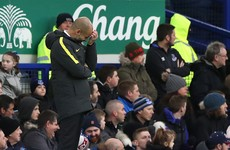 Pep Guardiola admits title race defeat after Goodison Park hammering