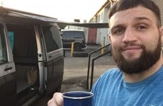 From a home in Wales to a camper van in Dublin to realise the UFC dream