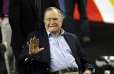 Former US president George Bush Sr in intensive care due to respiratory illness