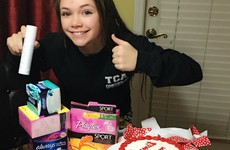 This mam threw her daughter a 'period party' because she was worried about starting her period