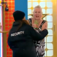 Security had to be called in to break up a row on Celebrity Big Brother last night