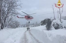 'No signs of life' at Italian hotel as 30 feared dead after massive avalanche