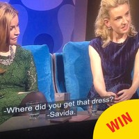 The most Irish gal interaction took place on a TG4 chat show last night
