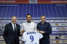 Lyon complete €17 million signing of Memphis Depay from Man United