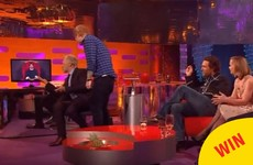 Ed Sheeran was reunited with his childhood best friend on Graham Norton last night