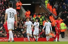 As it happened: Liverpool v Swansea, Premier League