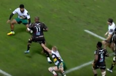 Nemani Nadolo takes out FIVE Northampton tacklers to score Jonah Lomu-esque try