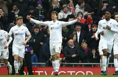 Liverpool's title hopes dealt major blow as struggling Swansea stun Anfield