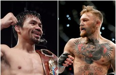 Manny Pacquiao: 'If McGregor will fight me in boxing, why not?'