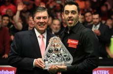 Ronnie O'Sullivan beats Joe Perry 10-7 to claim the Masters title for a record seventh time