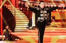 Des Cahill's cape-swishing stole the show on Dancing With The Stars last night