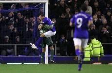 Watch: Everton goalkeeper Tim Howard scored a goal tonight...