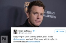 Ewan McGregor refused to appear on Good Morning Britain after realising Piers Morgan hosts it
