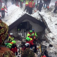 Six die in helicopter crash close to site of Italy avalanche