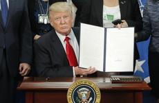 Trump issues executive order for wall to be built along Mexican border