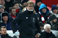 Klopp fumes at Long's handball as Liverpool miss out on Wembley