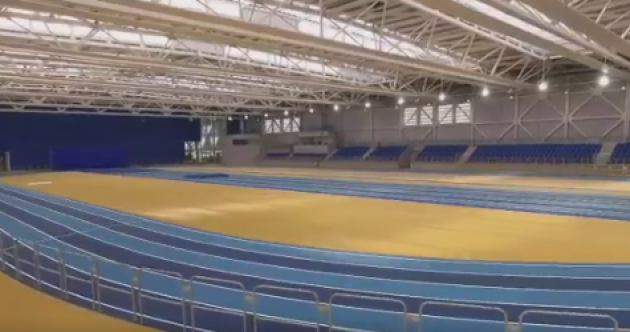 Video: A look inside the new state-of-the-art National Indoor Arena