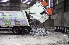 'Dead animals and concrete bricks': One third of green bin collections can't be recycled