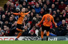 Liverpool knocked out of second cup within four days after suffering shock defeat to Wolves
