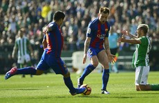 Barcelona suffer title race blow in controversial clash