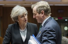 Enda Kenny will have a meeting with Theresa May in Dublin today
