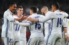 Real Madrid take advantage of Barcelona's slip-up to extend lead at La Liga summit