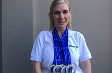 Perfect 7! Sinead Kane is the first visually-impaired athlete to complete World Marathon Challenge