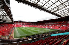 Fire crews tackle early-morning blaze at Man United's Old Trafford stadium