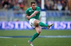 Ian Keatley has answered Ireland's call while Sexton training limited