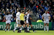 Montpellier's Steyn appeals four-week ban he received for high shot on Sexton