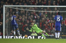Mignolet penalty save earns point for Liverpool as Chelsea extend lead at the top