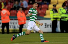 'I haven't really thought about England... Playing with Shamrock Rovers is the best thing for me'