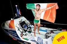 This Galway man just rowed the Atlantic solo and the photos of him finishing are amazing