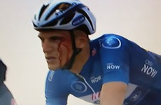 Cyclist disqualified for punching race leader in the face during Dubai sandstorm