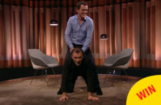 Tommy Tiernan's wife had the best response to his 'riding' antics with AP McCoy
