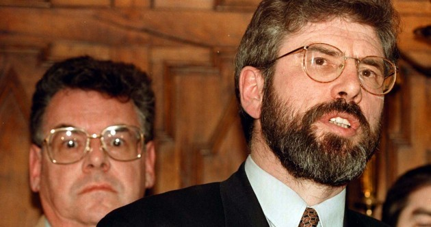 Gerry Adams: 'I disagree with Congressman Peter King profoundly on many, many issues'